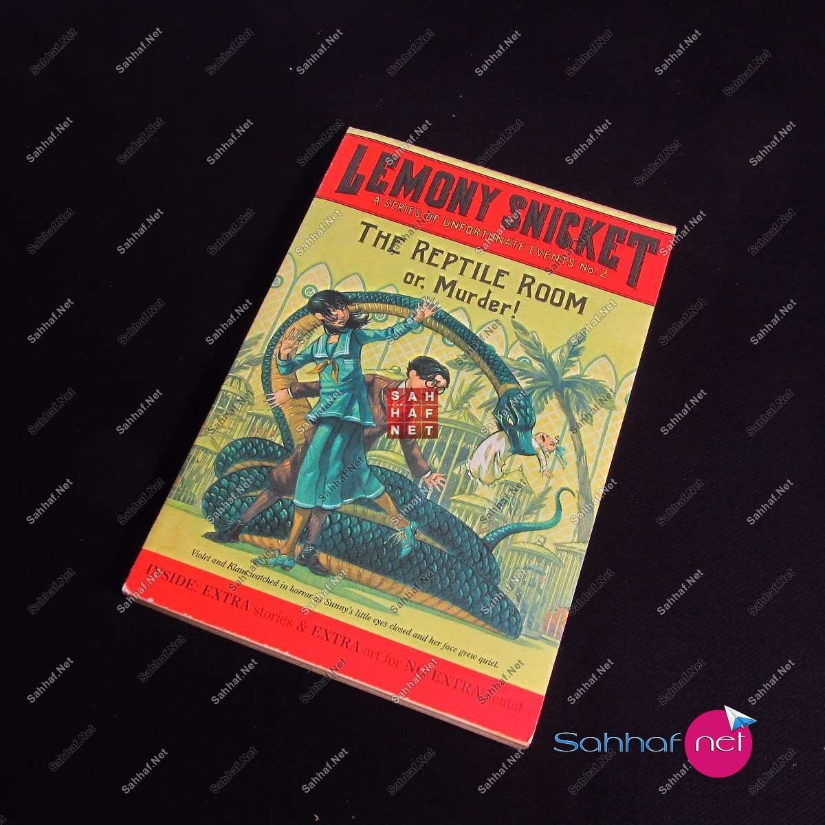 THE REPTILE ROOM – Lemony Snicket Kitap