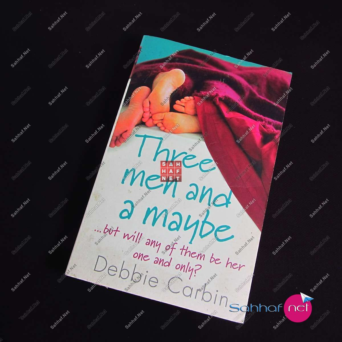 THREE MEN AND A MAYBE – Debbie Carbin Kitap
