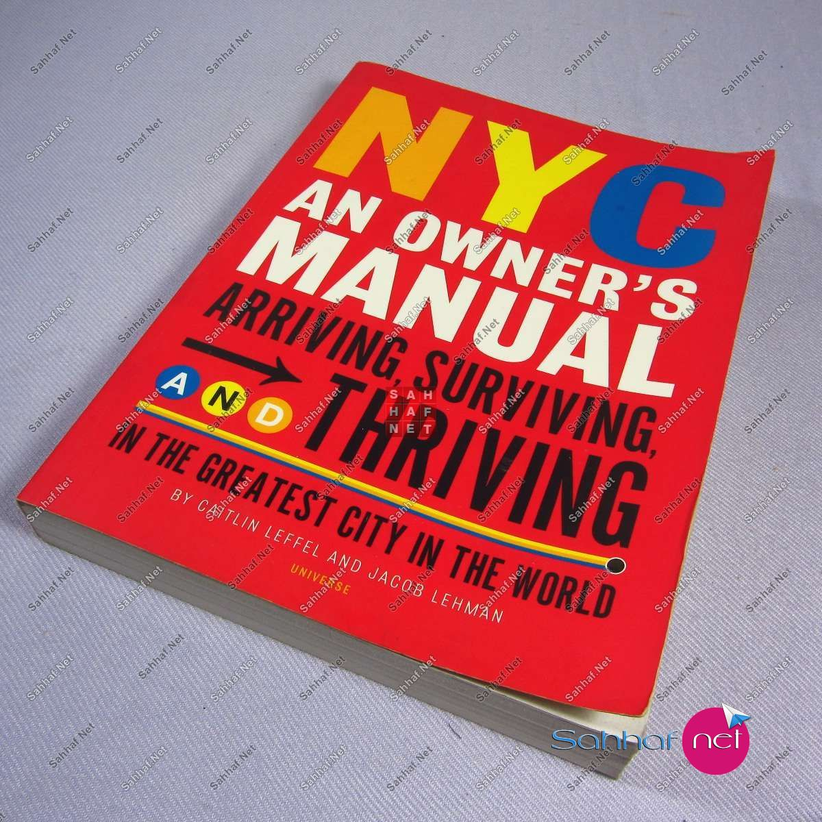 NYC AN OWNER'S MANUAL – Caitlin Leffel Kitap