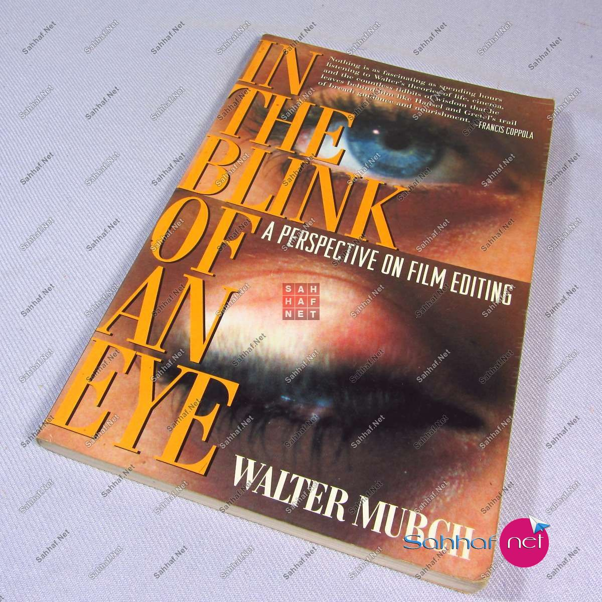 IN THE BLINK OF AN EYE – Walter Murch Kitap