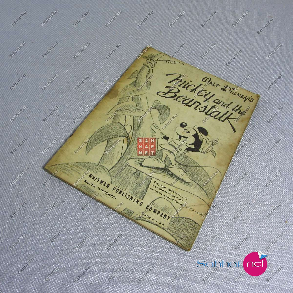 MICKEY AND THE BEANSTALK Kitap