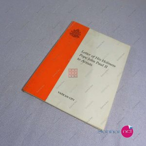 Kitap LETTER OF HIS HOLINESS POPE JOHN PAUL II TO ARTISTS