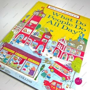 WHAT DO PEOPLE DO ALL DAY – Richard Scarry's Kitap
